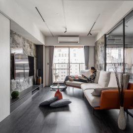 沉穩黑色調圍塑清幽之境,設計師的紓壓療癒宅!