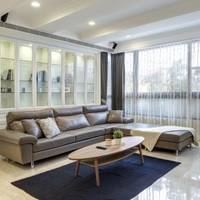 完美佈局三代同堂百坪宅 古典風 自地自建