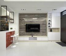 系統傢俱營造大器生活個性 - 現代風 - 51-80坪