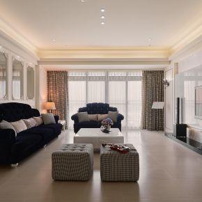 典雅與現代交織 譜出豪宅新古典 古典風 新成屋