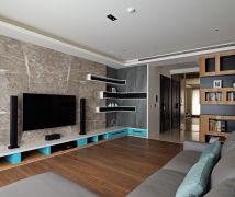 台中謝宅 - 現代風 - 36-50坪