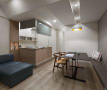 長型屋改造 - 現代風 - 21-35坪