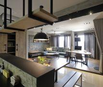 系統傢俱創造風格居家 - 工業風 - 36-50坪