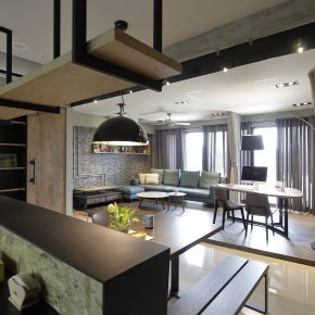 系統傢俱創造風格居家 工業風 新成屋