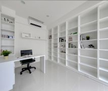 系統傢俱堆砌現代感空間 - 現代風 - 81坪以上