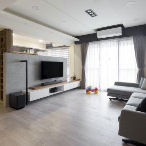 系統傢俱形塑親子宅 混搭風 新成屋