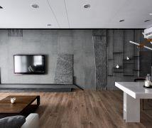 穿透空間 - 現代風 - 36-50坪