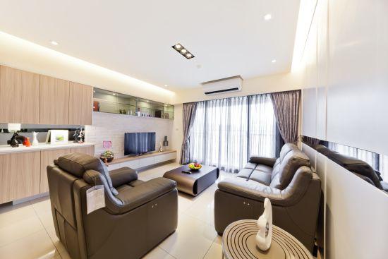 時尚度假宅 - 現代風 - 21-35坪