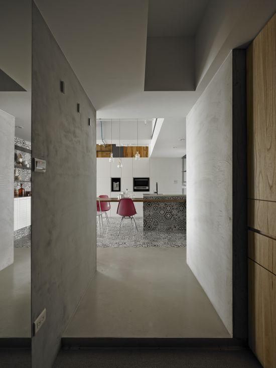 中和H宅 - 現代風 - 21-35坪