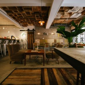 堆疊出的復古香氣 工業風 老屋翻新