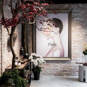 Fiala Florist 工業風 老屋翻新