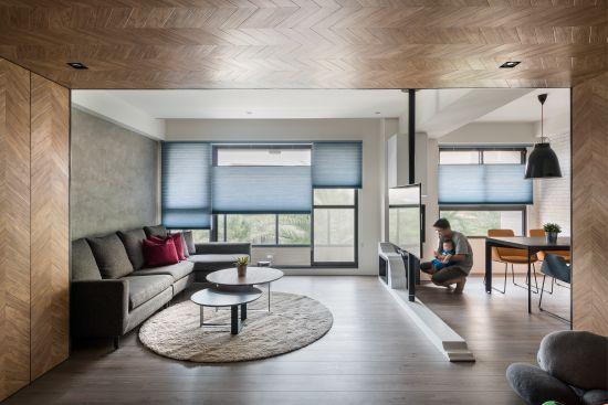 軸心 Living Axis - 現代風 - 36-50坪