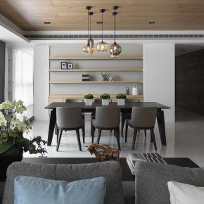 用灰白色調延伸家的現代感 現代風 新成屋