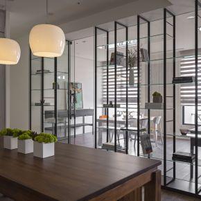 用透光材質讓家到處都有蘋果光 現代風 新成屋