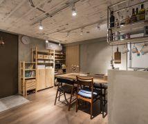 微裝修的26坪粗獷質樸宅 - 工業風 - 21-35坪