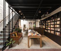 讓屋頂進一道光,在書本裡漫遊浮光 - 工業風 - 36-50坪
