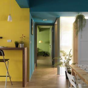 用色彩滿足你對家的想像.. 北歐風 老屋翻新