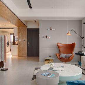 輕裝感的36坪北歐宅 北歐風 新成屋