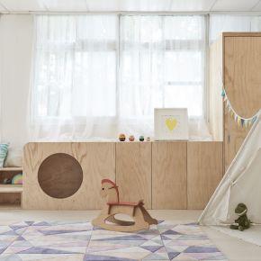 美好的童年 北歐風 老屋翻新