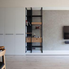 極簡的原木北歐宅 現代風 新成屋