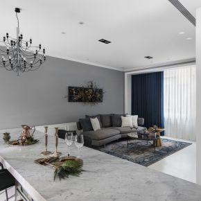 純粹白與優雅灰譜出一室的美好 現代風 老屋翻新