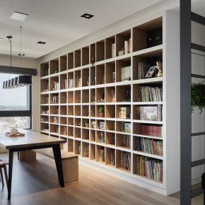 40坪的大收納簡約宅 現代風 新成屋