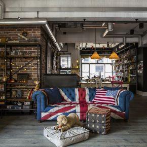 家的想像,從一張沙發開始 工業風 老屋翻新