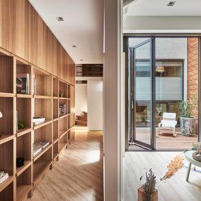 40坪的木質陽光宅 現代風 老屋翻新