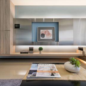 13坪小宅,一眼就看盡的美好生活 現代風 新成屋