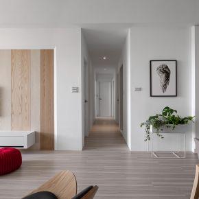 感受潔淨白色帶給你的質靜生活 現代風 新成屋