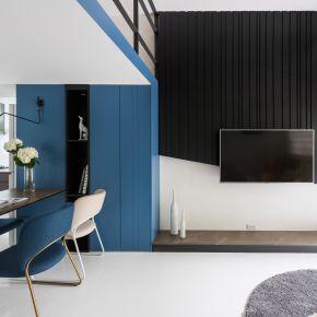 爵士藍調 現代風 新成屋