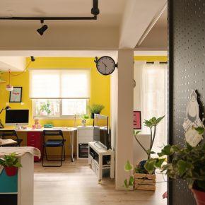 在10坪裡享受地下天光 現代風 老屋翻新