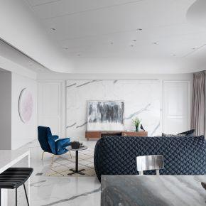 純白空間的水墨意境 古典風 新成屋