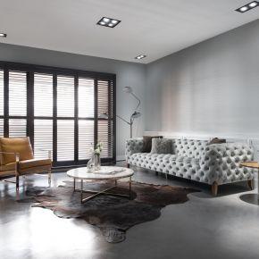 純粹優雅的冷色質感宅 古典風 新成屋