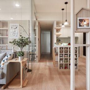 25坪享受空間流動陽光宅 北歐風 新成屋
