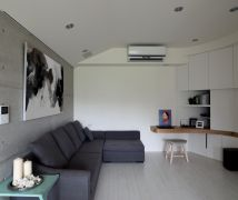 灰色系北歐宅 - 北歐風 - 21-35坪