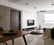 25坪空間感現代居 - 現代風 - 21-35坪
