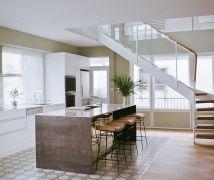 老屋化身巴黎風公寓 - 混搭風 - 36-50坪