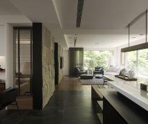 45坪享受自然流動的綠光 - 現代風 - 36-50坪