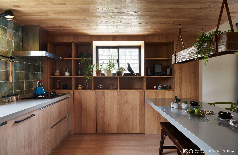 混搭風廚房