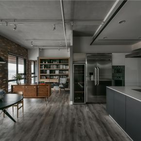 OPEN HOUSE 工業風 新成屋