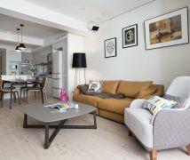 30坪公寓演繹介面延伸 - 現代風 - 21-35坪