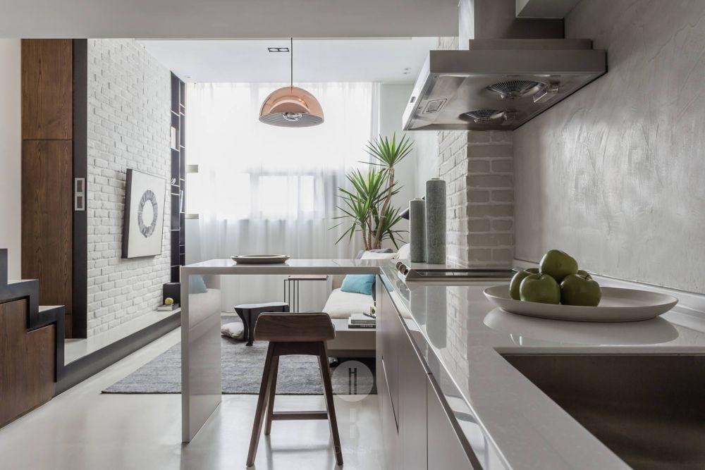 善用穿透材質,打造15坪超大空間感的家!