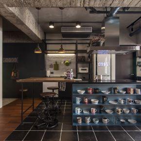 21坪的品味工業居家宅 工業風 老屋翻新