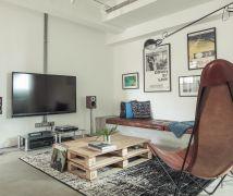 30坪法式Loft私宅 - 工業風 - 21-35坪