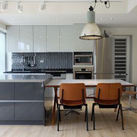 28坪老屋改造灰階的北歐宅
