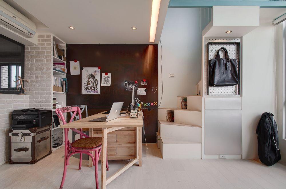 聰明好設計,讓15坪的家也能爽當SOHO族!