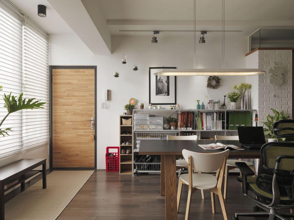 23坪純淨自然的舒適宅!讓你在家工作也能很享受