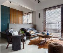 27坪雙人型男宅 - 現代風 - 21-35坪