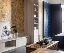 熱帶風Loft單身宅 - 工業風 - 10-20坪